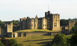 Free Alnwick Castle Royalty Free Stock Image - 2445736