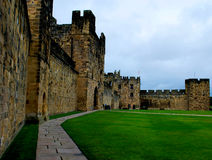 Alnwick Castle Royalty Free Stock Image