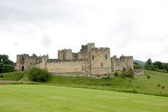 Alnwick Castle. In Northhumberland England stock photos