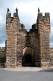 Alnwick Castle Gatehouse Stock Photos