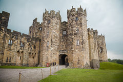 Alnwick Castle. The historic Alnwick Castle in Northumberland Stock Image