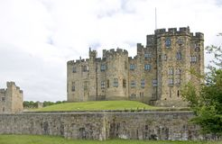 Alnwick Castle Main Building Royalty Free Stock Photo