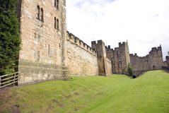 Alnwick Castle North Wall Stock Photo