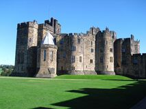 Alnwick Castle, Northumberland, England Royalty Free Stock Photography