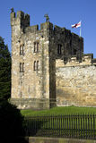 Alnwick Kasteel - Northumberland - Engeland Royalty-vrije Stock Fotografie