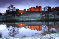 Alnwick-Schloss Stockfotos