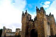 Alnwick-Schloss Lizenzfreies Stockfoto