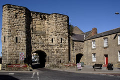 Alnwick town centre Royalty Free Stock Photos