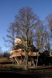Alnwick Tuin Treehouse Royalty-vrije Stock Afbeeldingen