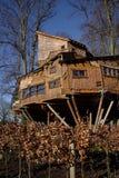 Alnwick Tuin Treehouse Stock Foto's