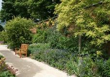 Alnwick tuinweg stock fotografie
