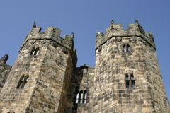 Alnwick Turrets Stock Images