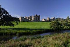 alnwick zamku Zdjęcia Royalty Free