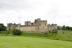 alnwick zamku zdjęcia stock