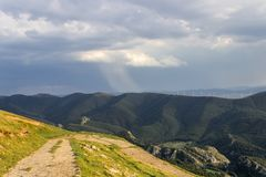 Aloña mountain in Oñati. Aloña mountain in Oñati in the Basque Country in Spain Stock Photography