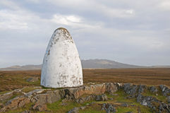 Alock et monument de Brown, Irlande Photo libre de droits