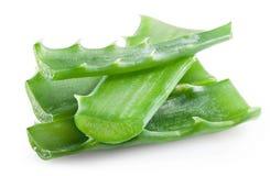 Aloe affettato Immagini Stock Libere da Diritti