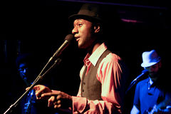 Aloe Blacc Immagine Stock