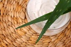 Aloe cream Royalty Free Stock Image