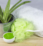 Aloe spa Royalty Free Stock Image
