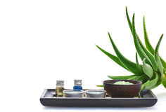 Aloe spa Royalty Free Stock Photography