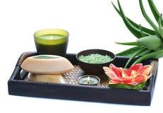 Aloe spa Royalty Free Stock Photo
