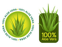 Aloe Vera 100% Seals Stock Photos
