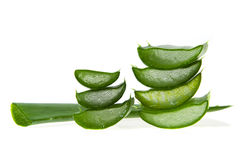 Aloe vera - alternative therapy Royalty Free Stock Photography