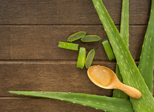 Aloe vera background Stock Photography