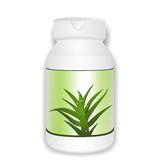 Aloe vera bottle Stock Photography