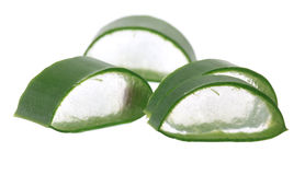 Aloe Vera Chunks Stock Images