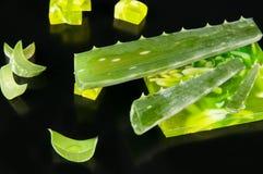 Aloe vera e sapone Immagine Stock