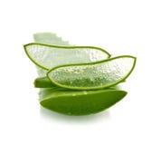 Aloe vera fresh leaf Stock Photos