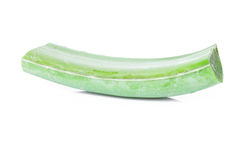 Aloe Vera-frisches Blatt Lizenzfreie Stockfotografie