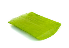 Aloe vera leaf . Stock Photos