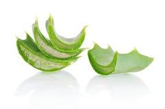 Aloe vera leaves Royalty Free Stock Photography