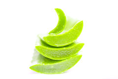 Aloe vera sliced Stock Image