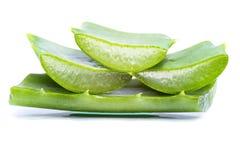 Aloe vera slices Royalty Free Stock Photo