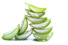 Aloe vera slices Stock Images