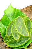 Aloe Vera,Thai herbal medicine. Royalty Free Stock Images