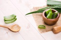 Aloesu Vera skóry kosmetyczna kremowa twarz i ciało dbamy higieny moistur Obraz Stock