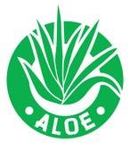 Aloesu Vera symbol Fotografia Stock