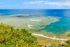 Alofi Niue Arkivbilder