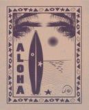 aloha Χαβάη Στοκ Φωτογραφία