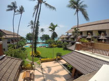 Aloha взгляд комнаты Samui Koh курорта Стоковая Фотография RF