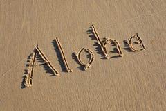Aloha Immagine Stock Libera da Diritti