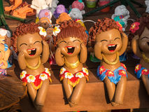 Aloha Cray Doll. Beautiful Hand made Aloha Cray Doll in Thailand market Royalty Free Stock Photography