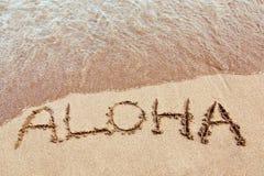 Aloha dall'Hawai Immagine Stock Libera da Diritti