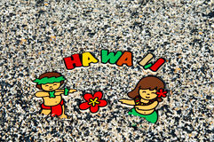 Aloha Havaí foto de stock