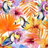 aloha Hawaii bezszwowy deseniowy Obrazy Stock